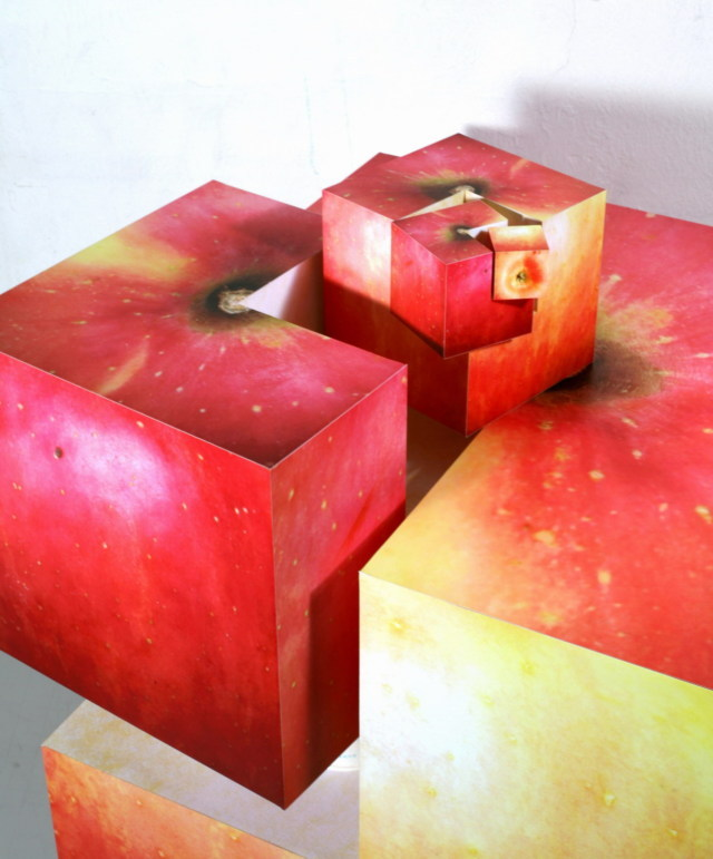 Fractal Apple by Kwon Jung Jun