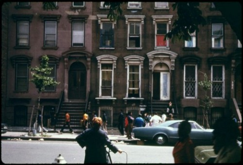 superseventies:  A Brooklyn street, Summer 1974.
