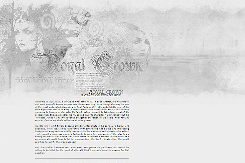 Title: Royal Crown (unused layout) Website: Royal Crown