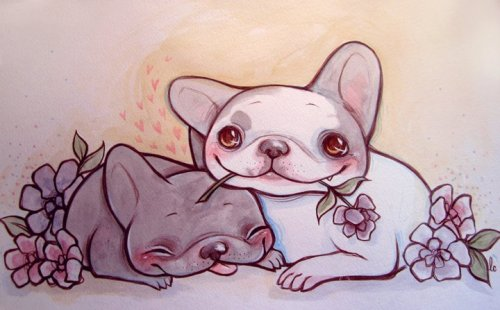 Frenchie Commission by ~lindsaycampbell