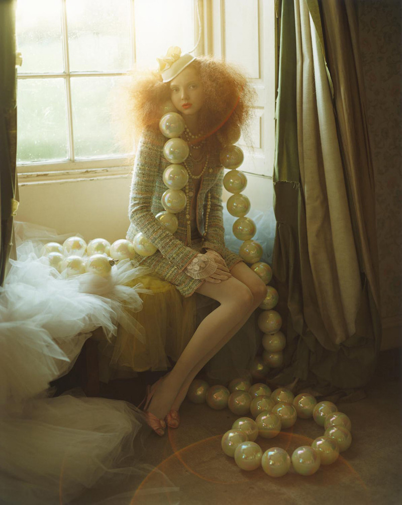 Lily Cole in 2004 photographed by Tim Walker