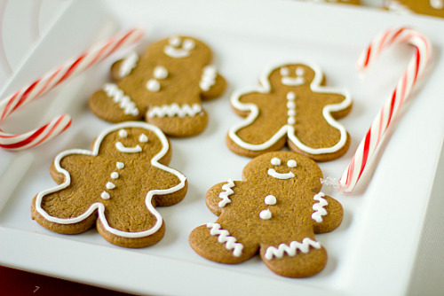 Gingerbread Men Cookies. &recipe here.