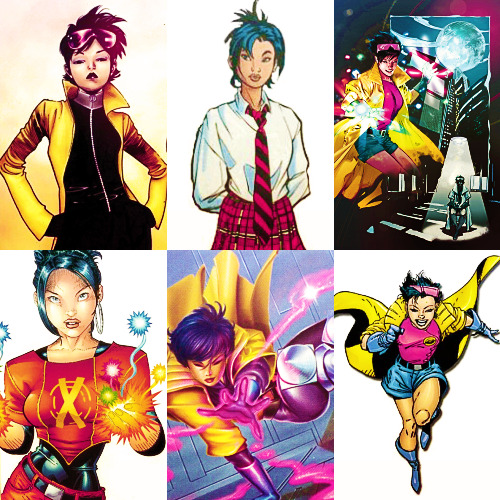 favorite marvel characters → Jubilee (Jubilation Lee)