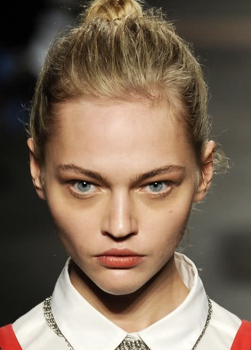 highlikefashion:  Sasha Pivovarova at Rag & Bone Fall 2009
