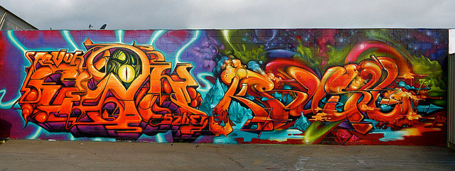 Ewok vs Krush. Name exchange. by Ironlak on Flickr.