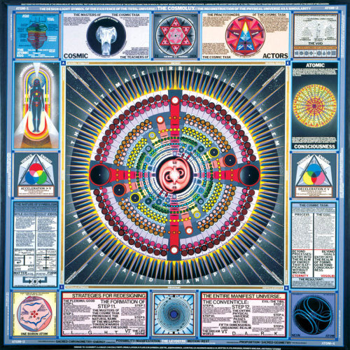 Cosmolux, Paul Laffoley 1981