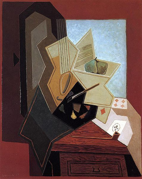 Juan Gris, The Painter's Window, 1925.