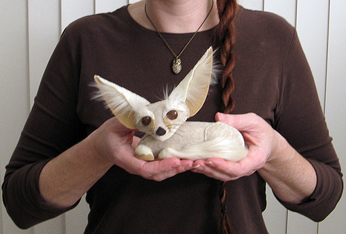 The Fennec Fox on one of my favourite craft blogs, Futuregirl.