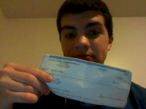 Guess which fag got their Christmas bonus today? Yeah, this one.