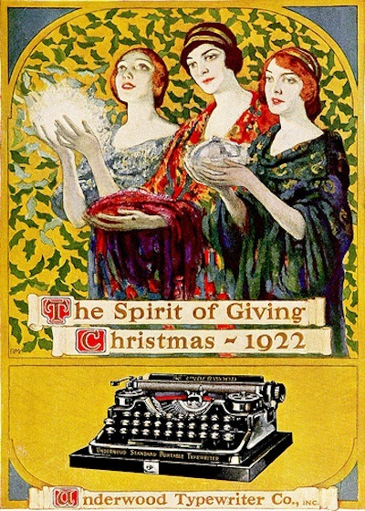 lauramcphee:  spirit of giving, 1922