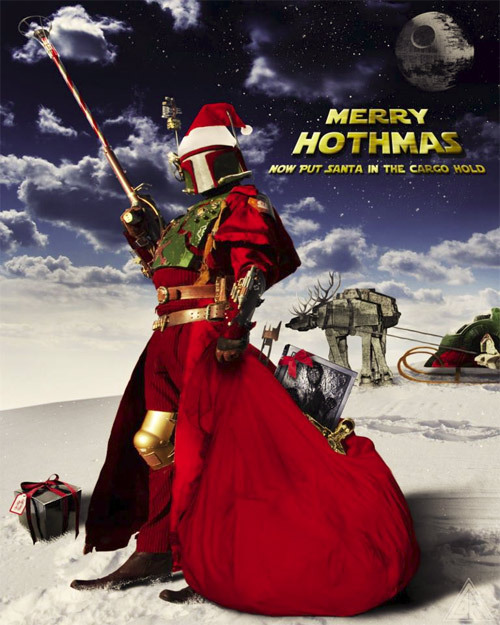 obviouswinner:  Merry Hothmas from Steampunk Boba Fett