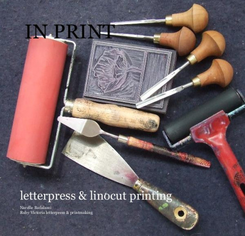 my book on Flickr.A small pictorial book about my work and Printing studio in Battery point Hobart Tasmania Australia you can view and buy my book by following this link http://www.blurb.com/bookstore/detail/2821213
