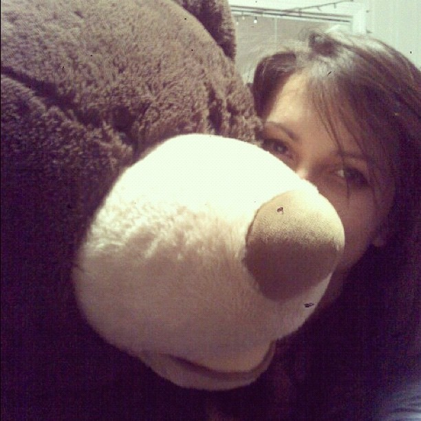 Sleepover with Wilson. :* (Taken with instagram)