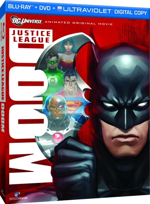 "Superman Homepage: Details on ""Justice League: Doom"" Animated Movie   Justice League: Doom finds Superman, Wonder Woman, Flash, Green  Lantern, Martian Manhunter, Cyborg and Batman on their heels when a team  of super villains discover and implement the Dark Knight's ""contingency  plans"" for stopping any rogue Justice League member. The story is  inspired by Mark Waid's much-heralded ""JLA: Tower of Babel.""  JLA voice actors in the film include Kevin Conroy as Batman, Tim Daly as Superman, Susan Eisenberg as Wonder Woman, Nathan Fillion as Green Lantern, Carl Lumbly as Martian Manhunter,  Michael Rosenbaum as The Flash, and Bumper Robinson as Cyborg. The script was the final contribution to animation & DC lore from writer Dwayne McDuffie, who passed away this past February. Justice League: Doom will be released as a Blu-ray/DVD/UltraViolet combo pack on February 28th, 2012."