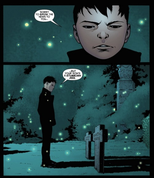 Damian meets his grandparents.