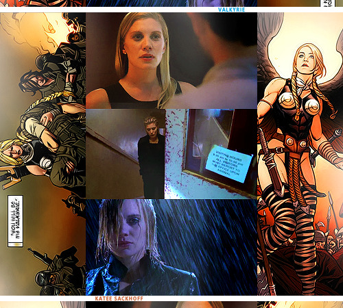 Casting Call || Katee Sackhoff as Valkyrie