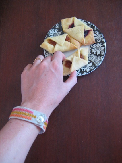 #3 londonprofessor's bracelet Reaching for a kolache