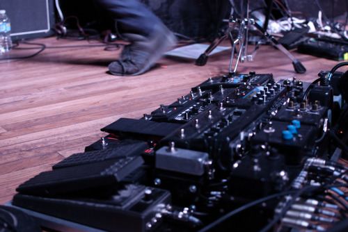 Greg Edwards' (Autolux) pedalboard