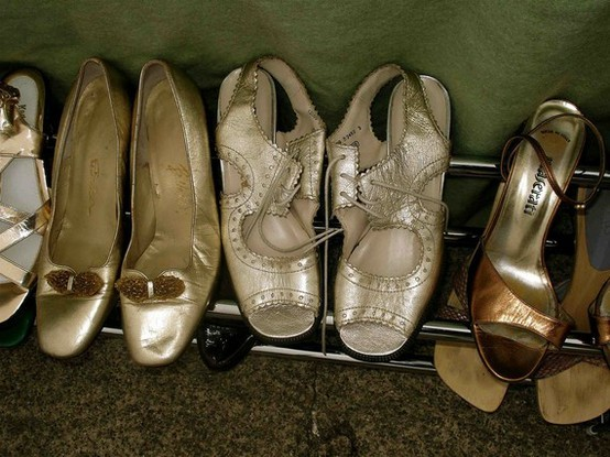 this-is-glamorous:  (via silver and gold / vintage shoes)