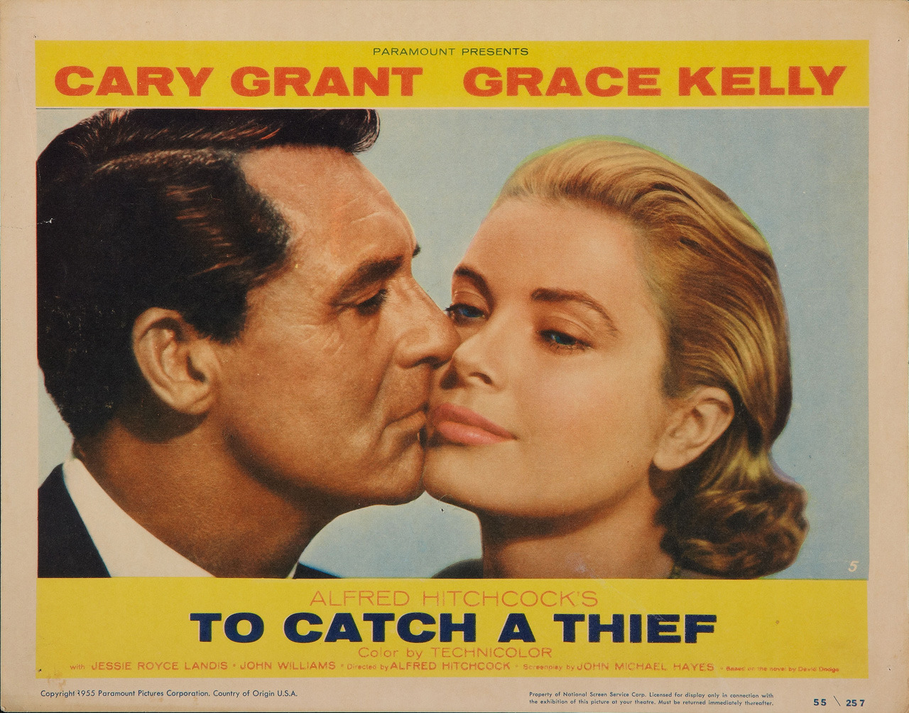 To Catch a Thief, US lobby card. 1955