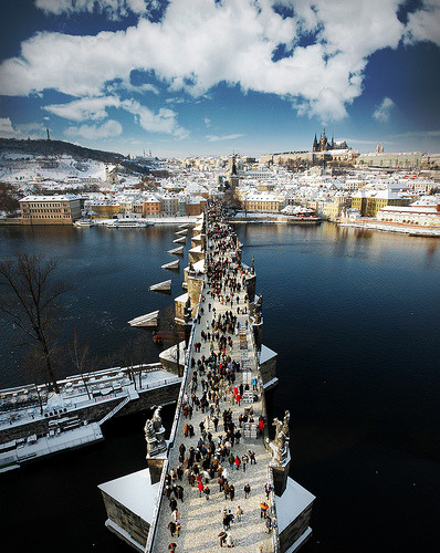 allthingseurope:  Charles Bridge in Prague (by IanBrewer)