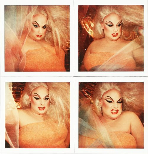 Divine (Polaroids). New York, 1978.