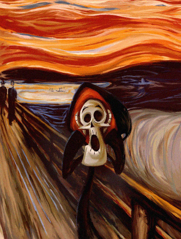 The Scream of Grim by Ramiro Cabrera