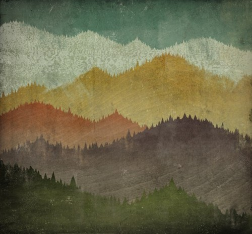 notesondesign: mountain tops