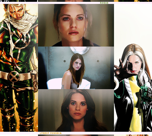 Casting Call || Lyndsy Fonseca as Rogue