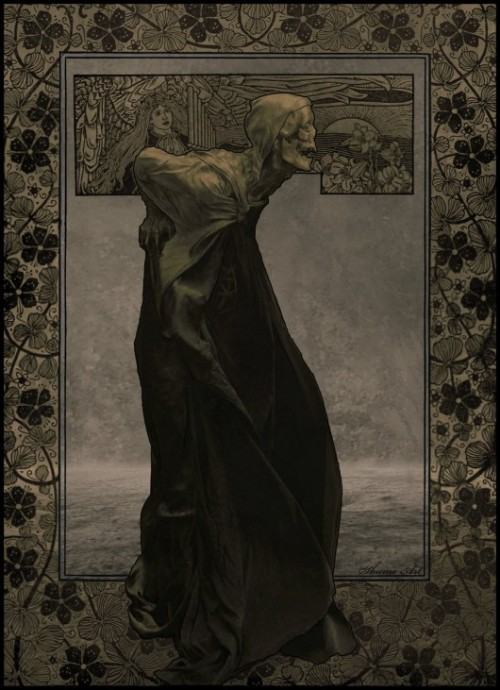 houseoffallingleaves:  old death by shume-1/deviantart