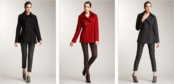 These three Michael Kors jackets are on sale at Hautelook. The original price is $300 and they are on sale for $89.