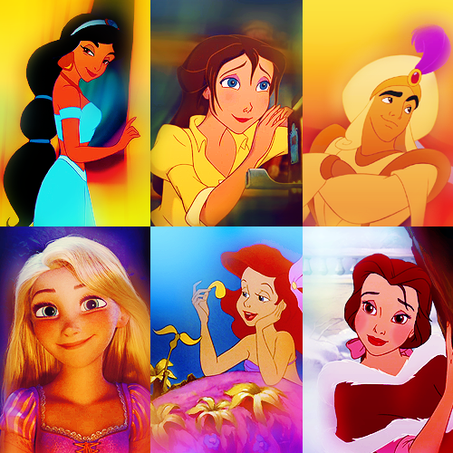 Six Favourite Disney Characters → asked by rapturee