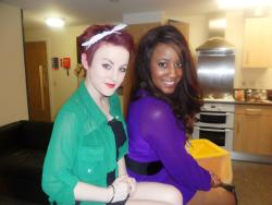 me and one of my fave girls
