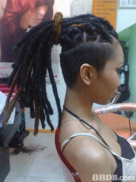 dreads and undercut
