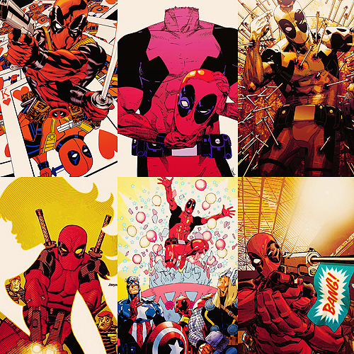 List of favorite comic book characters → Wade Wilson aka Deadpool