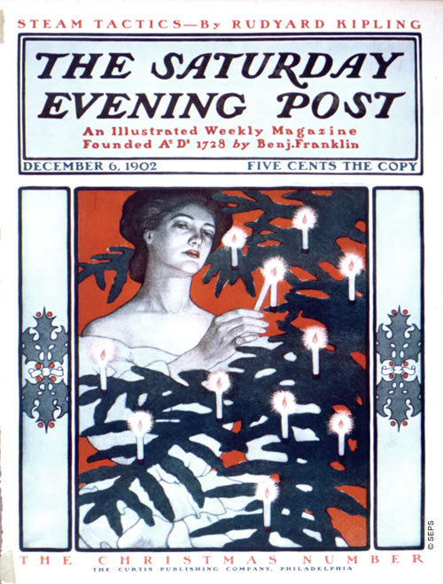 The Saturday Evening Post, December 6, 1902. Illustration by J. J. Gould and Guernsey Moore.