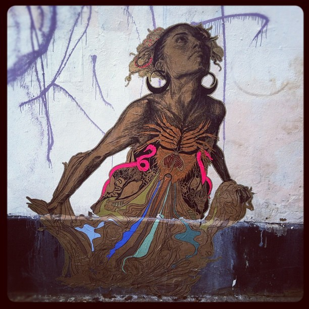 deemac99: #streetart on Hackney Road, London (Taken with instagram)