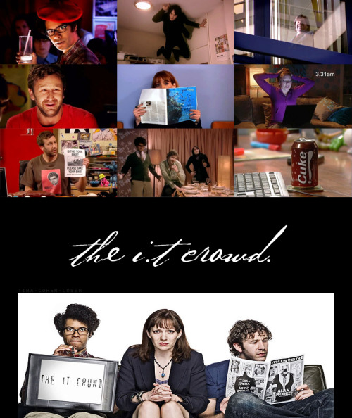 TV Meme - 10 Currently Airing Shows (2/10) The IT Crowd. Created by Graham Lineham.