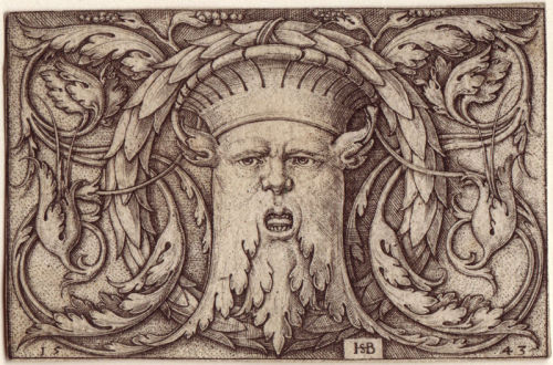 Hans Sebald Beham, Green Man, 16th Century.