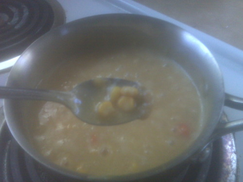 From the Archives: Corn Chowder, date unknown