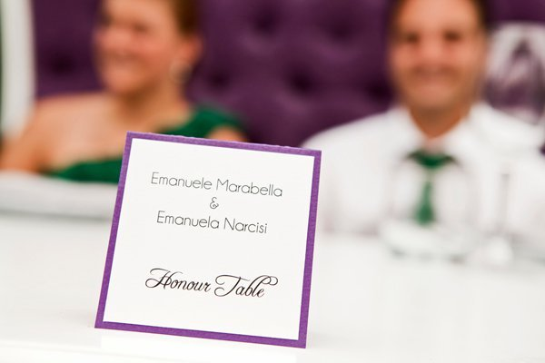 This past summer, Emanuele & Emanuela celebrated their engagement with their close family and friends at the stylish and upscale Bice Restaurant in downtown Montreal. What started out as an elegant afternoon lunch quickly turned into a happening party with everyone dancing and having a wonderful time at the restaurant's beautifully decorated terrasse. The wonderful team at Maddy K styled the event, and we were there to capture all the fun and gorgeous details. We wish the happy couple all the best for their upcoming wedding! love, bessie & coco