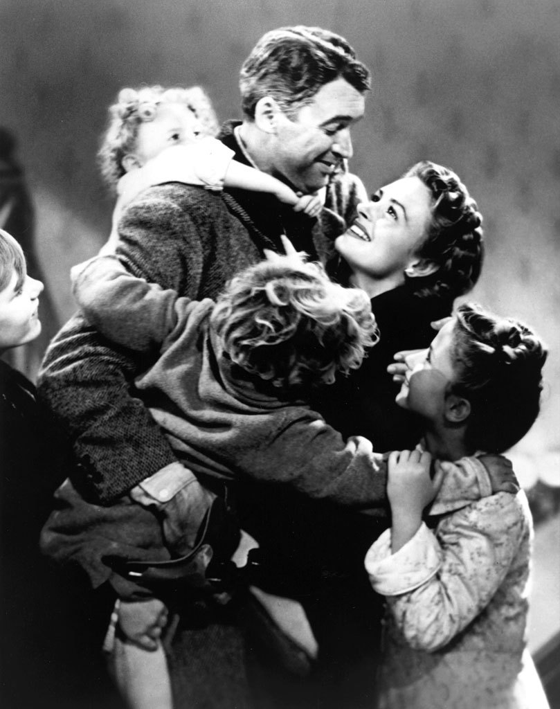 Introducing my flatmate to 'It's a Wonderful Life' was my good deed of 2011.