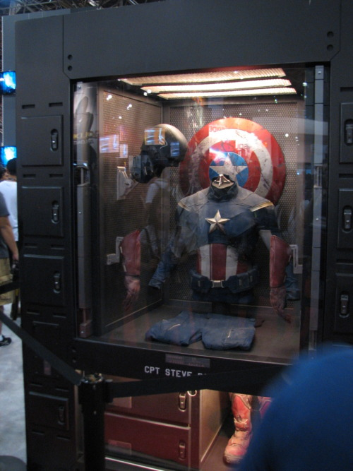 The Captain America Prop from the end of the movie.