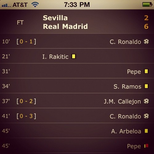 #RealMadrid #HalaMadrid #football #Mourinho #RMCF #WeDontCheat #FootballFan #Futbol #CR7 #Mou #Kaka  (Taken with instagram)