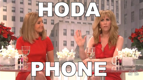 Hoda Phone. Bahaha, get it?