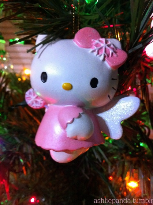 Hello Kitty ornament / ashliepanda