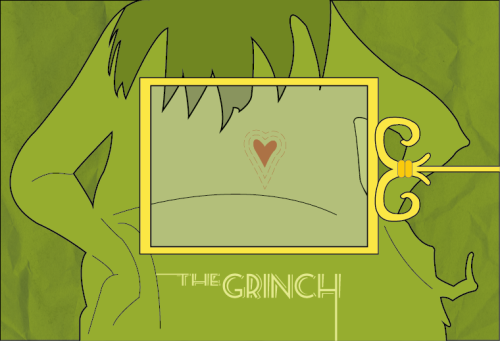 minimalmovieposters:  How the Grinch Stole Christmas by Scarletstormtrooper