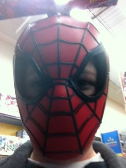 Oh, did I forget to tell y'all that I'm really Spidey? Peter Parker is a lying little shit!