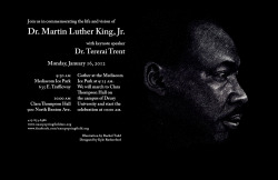 Poster For Martin Luther King, Jr. celebration Illustration by Rachel Todd