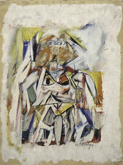 "manpodcast:  Willem de Kooning, Woman, 1950. Collection of the Metropolitan Museum of Art, New York. This week's Modern Art Notes Podcast features biographer and critic Mark Stevens, a top expert on the life and art of Willem de Kooning. Along with co-author Annalyn Swan, Stevens wrote ""de Kooning: An American Master,"" which won the 2005 Pulitzer Prize for biography. Stevens has also worked as the art critic for New York magazine. De Kooning is currently the subject of a major Museum of Modern Art retrospective. The exhibition, on view through Jan. 9, 2012, was curated by John Elderfield. I reviewed the exhibition on MAN here and here.  To download or subscribe to The Modern Art Notes Podcast via iTunes, click here. To download the program directly, click here. To subscribe to The MAN Podcast's RSS feed, click here. To see images of the artworks discussed during this week's show, click here."